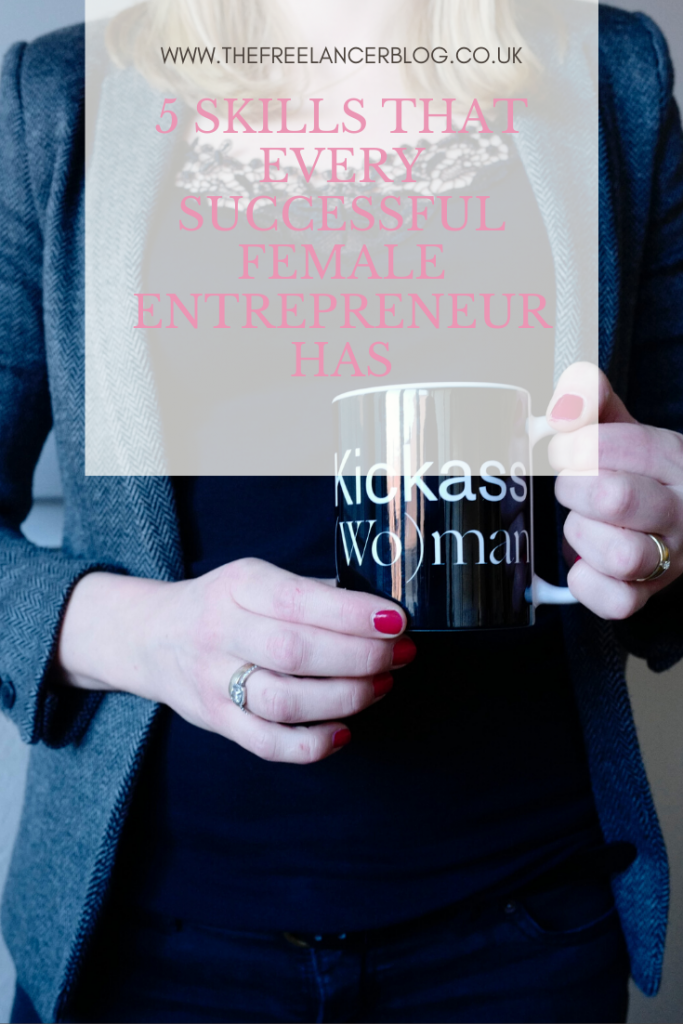 successful female entrepreneur