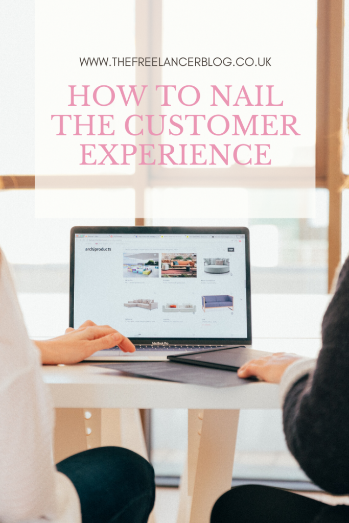 How to nail the customer experience