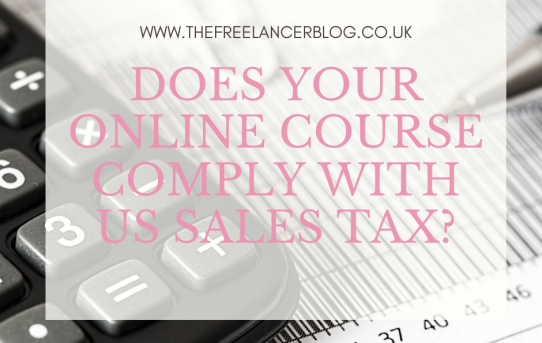 Does Your Online Course Comply With US Sales Tax?