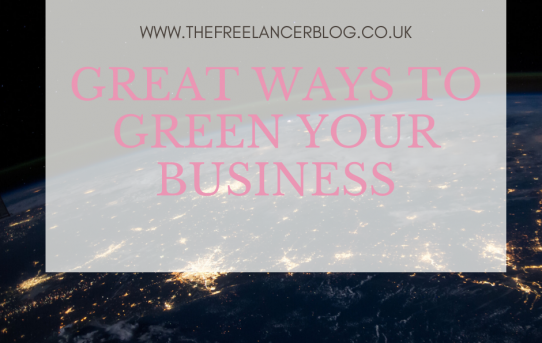 Great Ways To Green Your Business