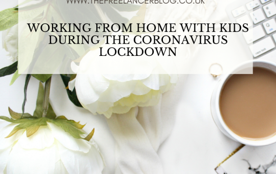 Working From Home With Kids During The Coronavirus Pandemic
