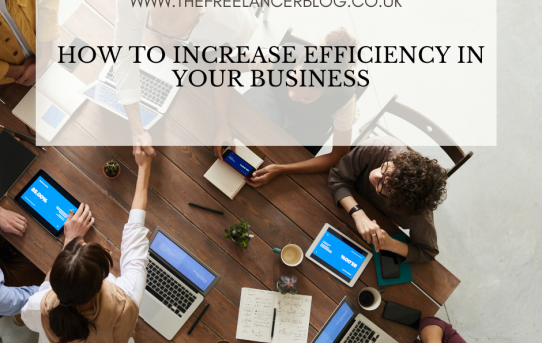 How To Increase Efficiency In Your Business