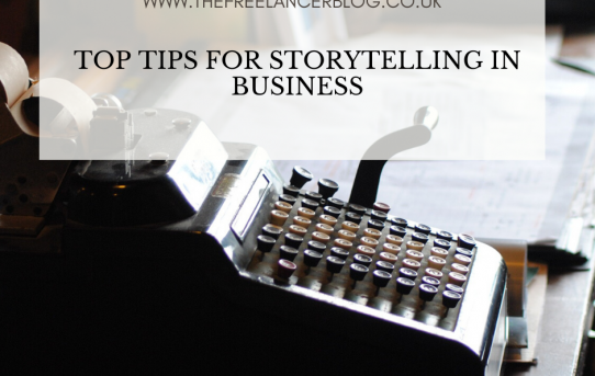 Top Tips For Storytelling In Business