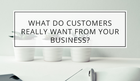 What Do Customers Really Want From Your Business?